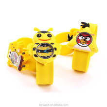 Animal Silicone Slap Watch for Kids