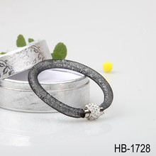 Fashion Black Magnetic bracelet with Crystal Best sell style