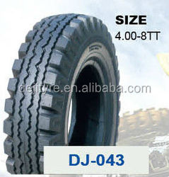 High Quality Motorcycle Tyres for Three Wheels4.00-8