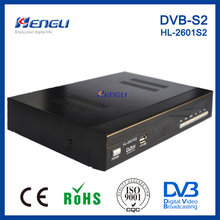 nice design FTA DVB-S2 digital receiver free dish