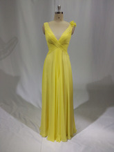 abito da sera nuovo immagini plus size su misura porcellana abito da sera fabbrica abiti da damigella abito giallo limone