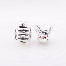 Solid 925 Silver Pig Gemstone Bead Globalwin Wholesale In Stock Crystal Bead Charm