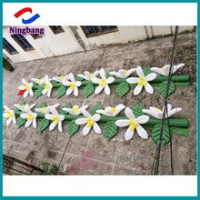NB-FL2022 Ningbang Wholesale innovation design charming inflatable flower chain for event decoration