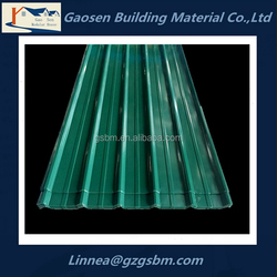 good quality customized color steel sheet/roofing sheet/roof tile