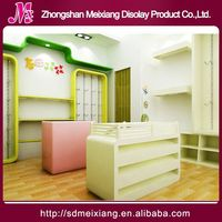 Shop shoes display case, MX5488 upscale shopping mall watch cabinet
