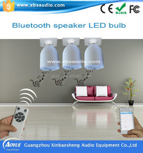top selling products in alibaba remote controlled LED lightbulb bluetooth speaker made in china