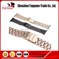 5 Stainless Ball Steel Binding Strap for Apple Watch Band With Adapters 38mm