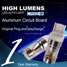 T10 W5W 192 194 168 LED Car Light Auto Side Wedge Lamp Bulb 5050 SMD Indicate Light with Projector Lens Ice DC 12V 2PCS/lot