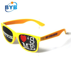 2140 plastic cheap promotional custom logo sunglasses
