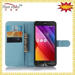 For ZenFone 2 mobile phone accessory protective back cover flip leather case for ASUS ZenFone 2 Laser ZE550KL 6 inch