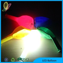 2015 Promotion Valentine's Day 100% Nature Latex Balloon Led