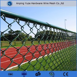 China factory supply low prices chian link fence/Used chain link fence for sale