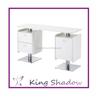 double nail table / nail dryer station / portable manicure table nail station