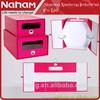 NAHAM Decorative Folding Cardboard Paper Storage Box