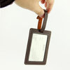 Stylish Leather ID Tags Business Card Holder for Luggage Baggage