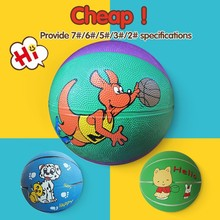 brand competitive offical basketball,6 inch rubber basketball toy
