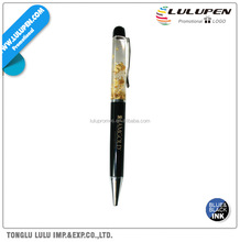 Floating Gold Dust Promotional Pen (Lu-Q80485)