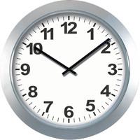 60cm plastic wall clock in Jumbo size for railway & bus station / jumbo advertising clock