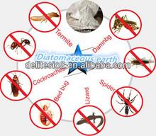 DElite Organic 300G/Bottle Fossil Shell Flour Pure Diatomaceous Earth Powder Pesticides, Mites, Ants, Slugs,Bugs Killer