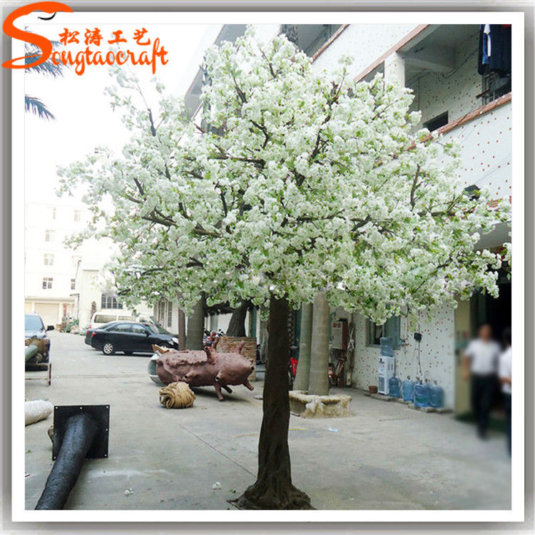 künstliche gemacht kirschblüte baum Unechte bäume weiße blume ...
