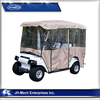 China manufacture 4 pessangers golf cart rain cover