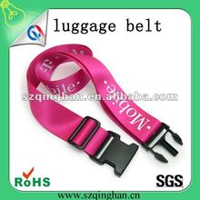 2014 fashion wholesale luggage strap or belt with strap adjuster