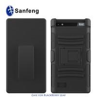 Swivel Belt Clip On Holster Stand Case for Blackberry Leap Z20 Phone Cover