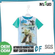 Export Quality Custom Logo 100% Cotton Tee Shirt For Children