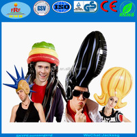 Promotion PVC Giant Inflatable Wig
