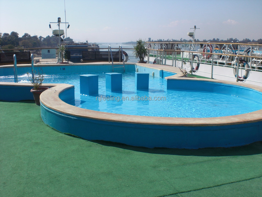 Rubber Swimming Pools : Outdoor rubber swimming pool epdm granules flooring