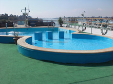 Outdoor Rubber Swimming Pool, EPDM Rubber Granules Flooring -FN-I-15083106