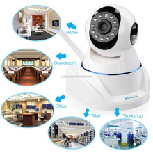 720P High Definition Wireless Wifi IP Camera P2P Night Vision Webcam Camera with Motion Detection