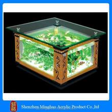 clear acrylic fish tank, fish tank for sale, coffee table fish tank