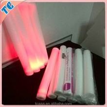 concert supplies cheap flashing foam sticks,glow party products