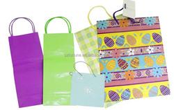 Custom Recycled Paper Packaging Bag/Advertising Paper Bag/Design Paper Bag