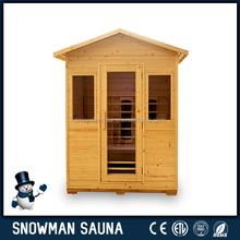 Portable Home Hemlock Outdoor Steam Sauna
