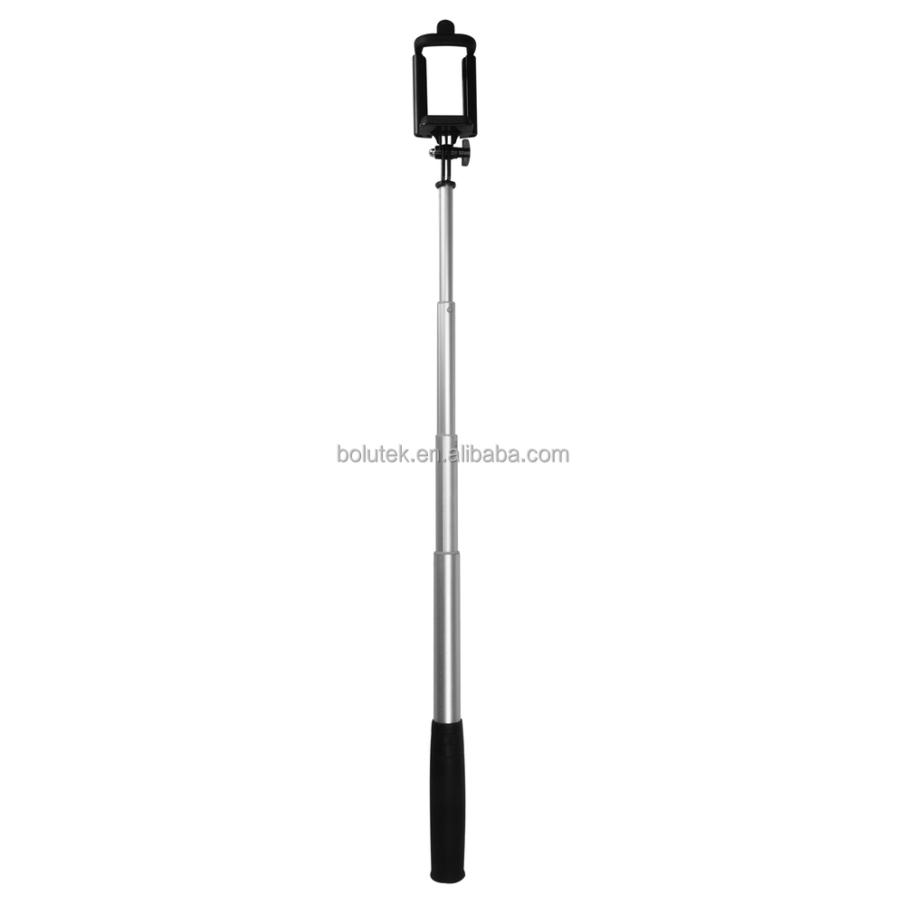 hot aluminium bluetooth mini selfie stick for iphone extendable monopod buy selfie stick. Black Bedroom Furniture Sets. Home Design Ideas