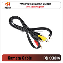 7pin S - video 3.5mm audio video cable 3RCA cable