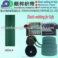 High tenacity seat belt webbing for sofa (003A#)