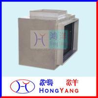 HVAC Plenum Box of Dissipative Noise Elimination