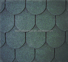villa exterior wall colored round fishscale roof shingles