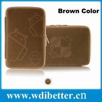 """Sleeve case bag for 7inch tablet pc 7"""" MID Notebook Soft Protect Cloth Bag Pouch Cover Case"""