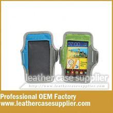 2015 professional OEM neoprene waterproof sports mobile phone armband case