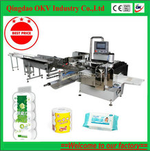 Fast speed toilet paper , toilet tissue, facial tissue packing machine