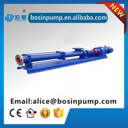 screw pump for mortar, slurry, bitumen, puli water and others (G screw pumps)