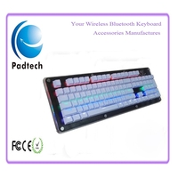 Small Backlit Ergonomic Gaming Computer Keyboard for PC