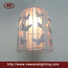 Garden/Corridor Beautiful Brid Cage Pendant Light/ Pendant Lamp