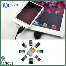 2500mah Solar Mobile Phone Charger Cell Phone Rohs Mobile Solar Charger
