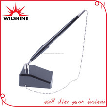 Popular Desk Pen with Chain with A Strong Base