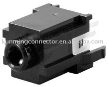Vertical Socket 3.5mm Jack Mono Headset Media Player Connector HTJ-035-28 series 3 Poles Stereo Earphone Jack